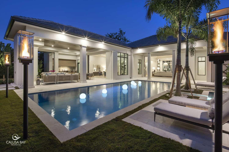 New Home Construction In Pelican Bay Naples Florida