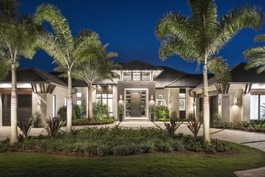 Golf course new construction, pelican bay, naples florida, real estate, for sale, new construction