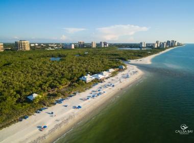 Pelican Bay Beach (south location)