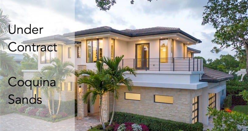 Under Contract | 689 Banyan Blvd | Coquina Sands