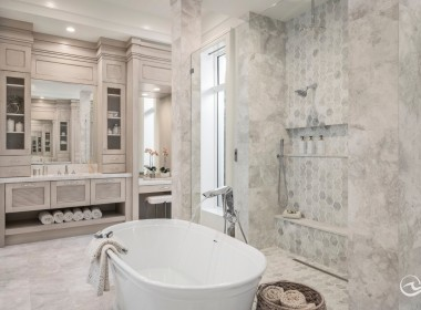 Spa like Master Bathroom