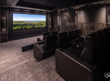 State-of-the-Art Theater Room