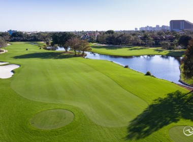 4th Hole of Club Course
