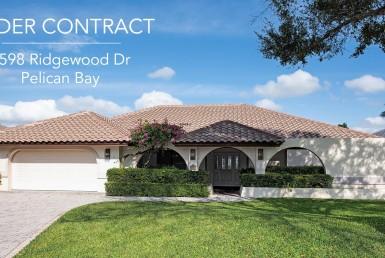 under contract, pending, pelican bay, naples, florida