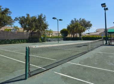 (2) Lighted Clay Tennis Courts
