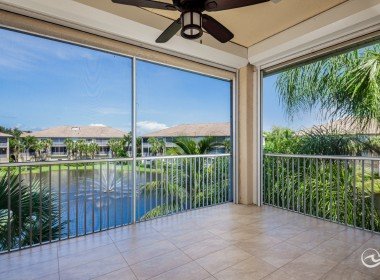Outdoor Living with Electric Roll Down Shutters