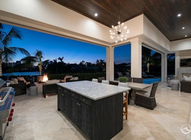 Outdoor Kitchen and Dining, Naples Fl Real Estate, Calusa Bay Properties