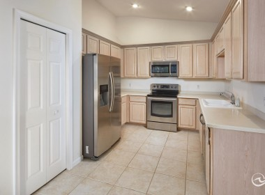 Kitchen, Gated real estate for sale in Naples FL
