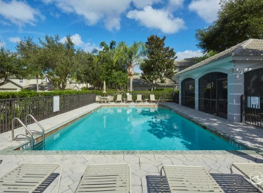 Cedar Ridge Pool, Naples Florida Real Estate