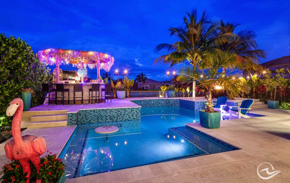 tropical oasis riverstone